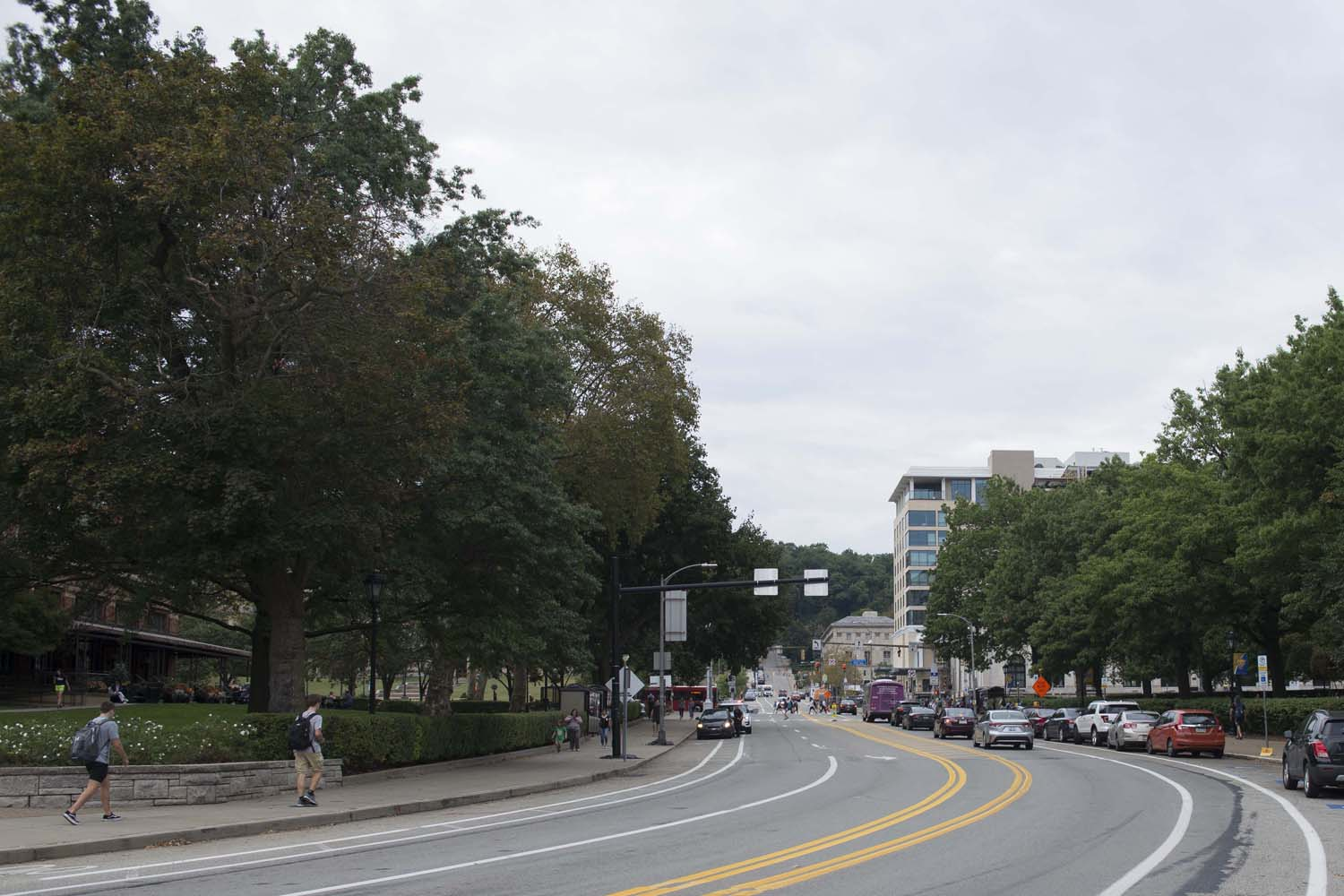 Bigelow Boulevard will be closed between Forbes and Fifth avenues from Nov. 1 to Aug. 15, 2020.