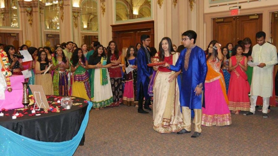 Students celebrated the Hindu festival Navratri in the William Pitt Union last year.