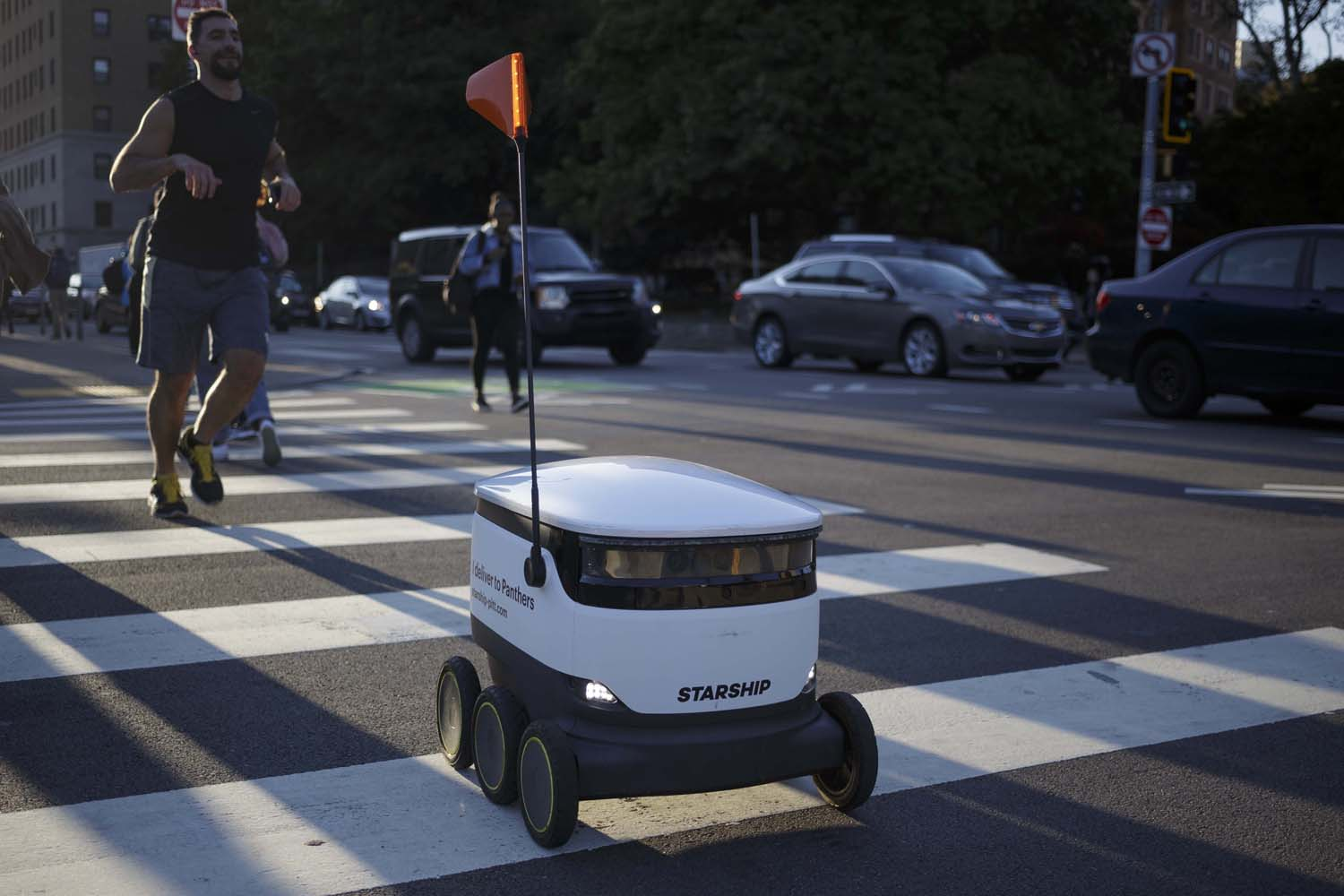 The testing of the Starship Technologies food delivery robots has halted due to concerns over potential safety issues for wheelchair users.