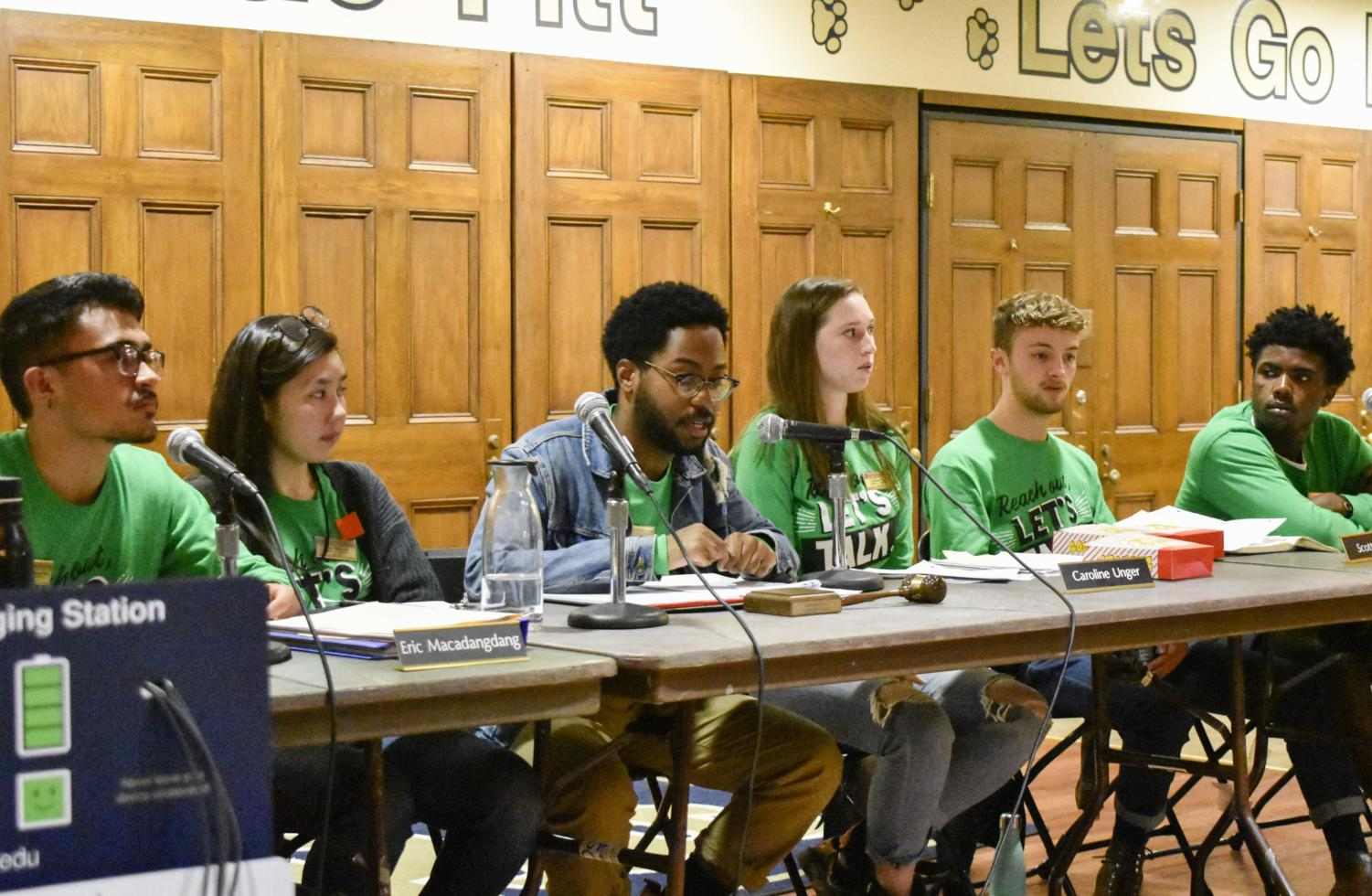 SGB provided updates on ongoing projects, including new club naming guidelines and installing free menstrual product dispensers in various bathrooms around campus, at Tuesday's public meeting.