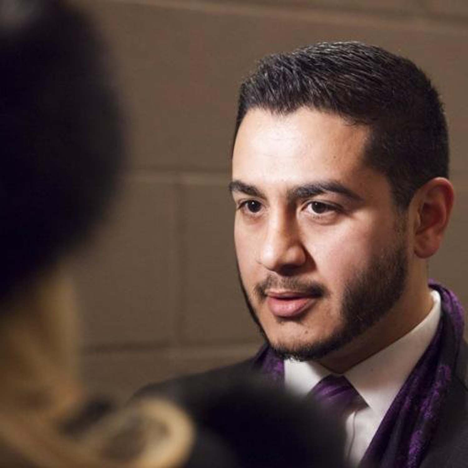 """Dr. Abdul El-Sayed hosts the """"America Dissected"""" podcast."""