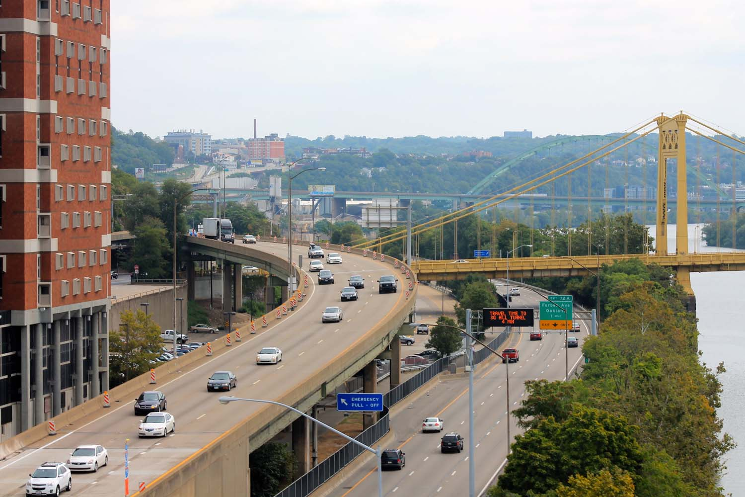 The American Society of Civil Engineers awarded Pittsburgh with a C- infrastructure quality rating in November 2018.
