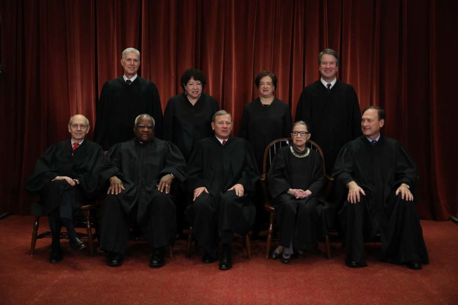The+Supreme+Court+opened+its+new+term+on+Monday+facing+decisions+on+the+Dreamers%2C+LGBTQ%2B+rights%2C+religion+and+abortion.