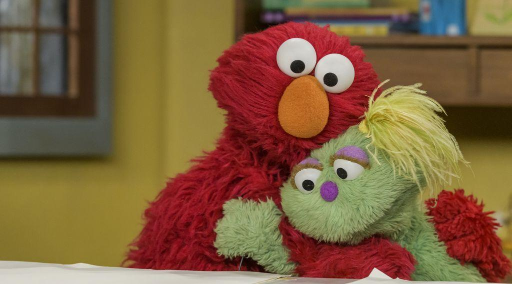 """""""Sesame Street"""" introduced Karli, a muppet with a parent struggling with addiction, in May."""