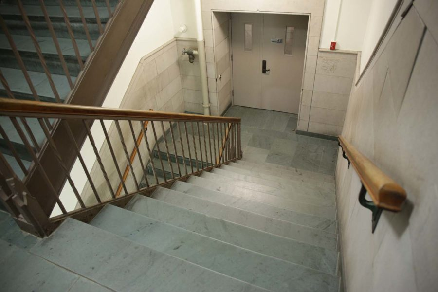 The average college student shouldn't have any problems climbing the stairs to the third floor of the Cathedral.