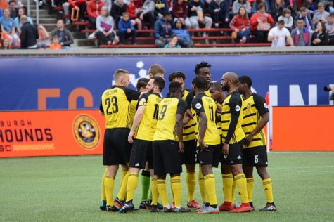 The Pittsburgh Riverhounds are Pittsburgh's professional soccer team. They will be playing again this Saturday night in the Eastern Conference semifinals — the biggest match in the club's 20-year history.