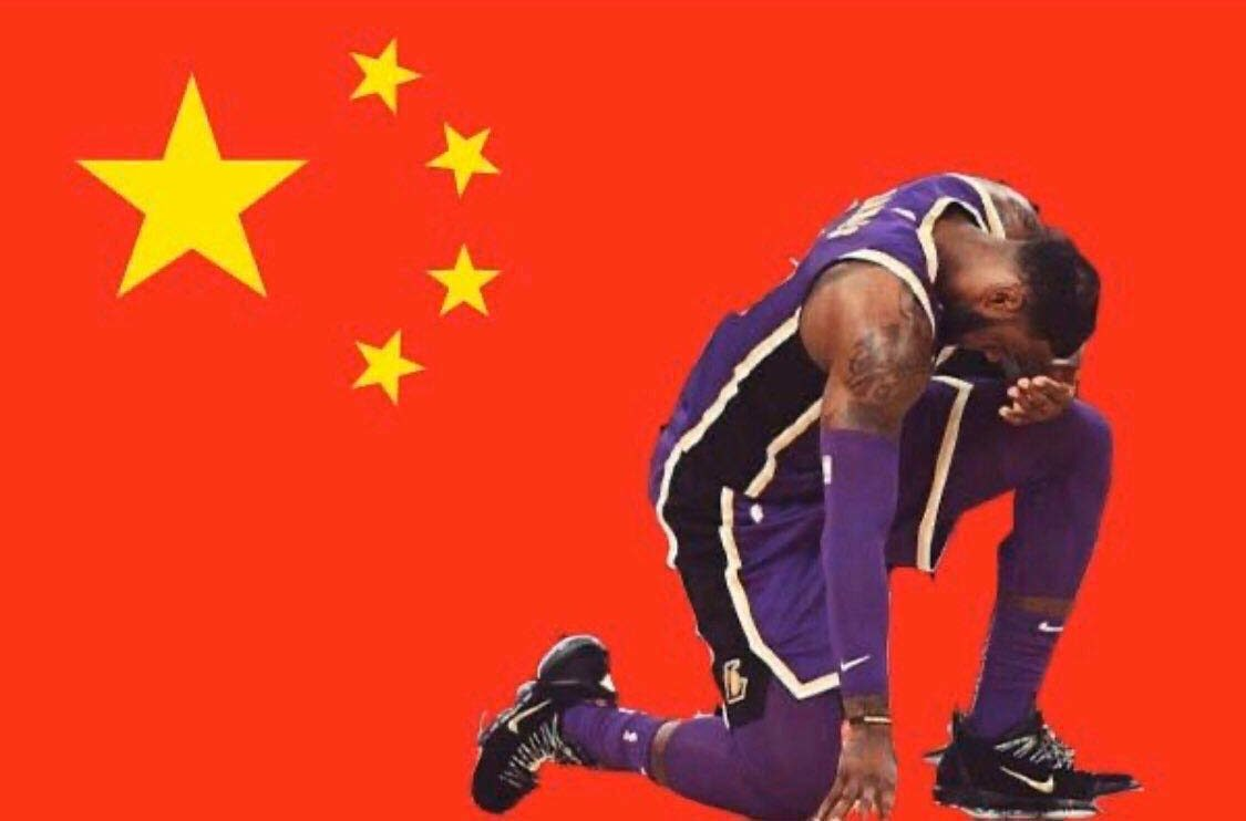 Lebron James answered questions about the NBA's current tension with China at a press conference on Monday.