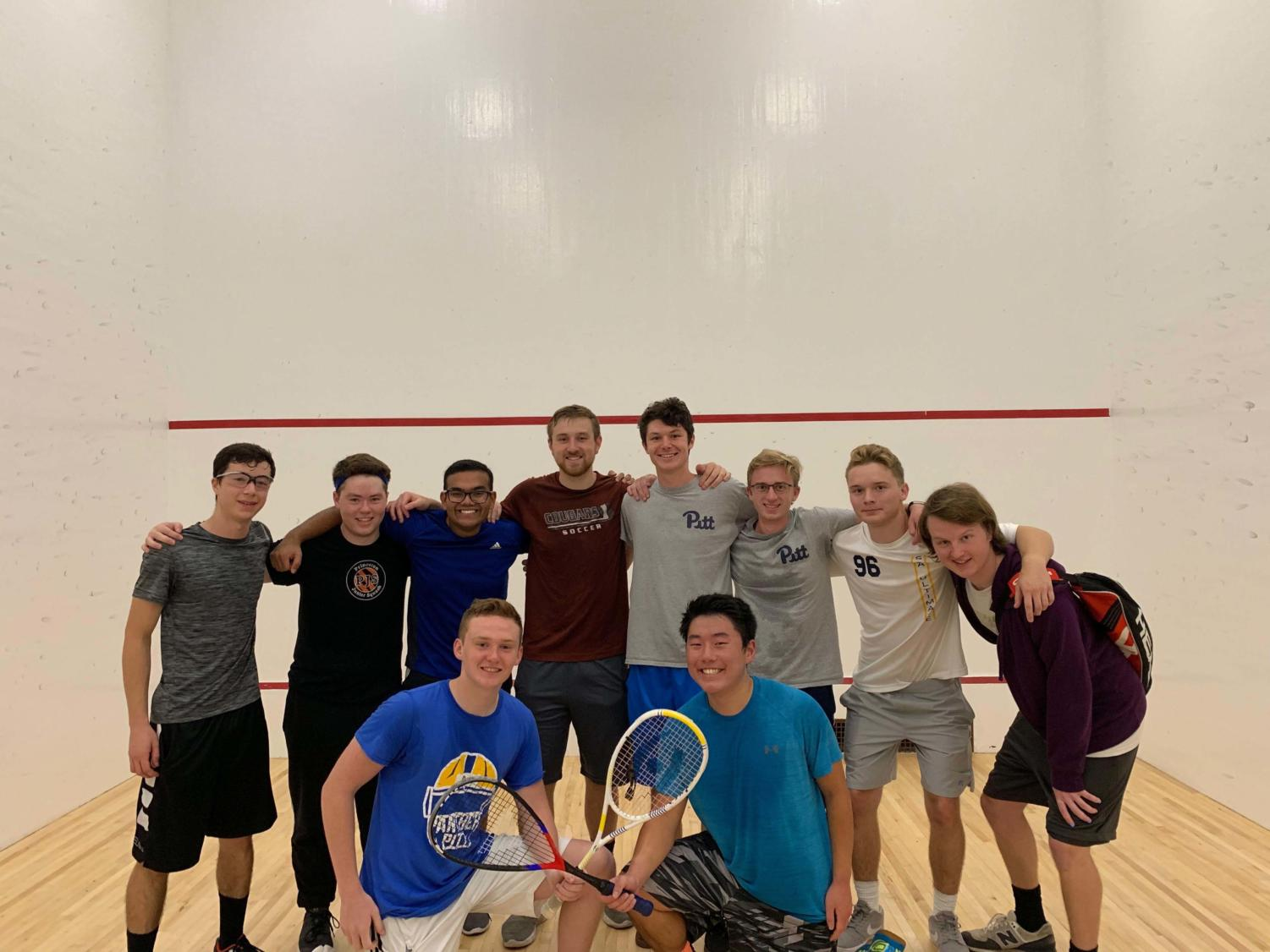 The Pitt club squash team has been around since last year, but just became competitive this season.
