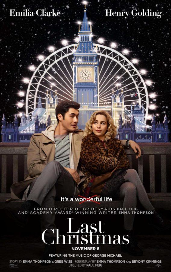 """Last Christmas"" stars Henry Golding and Emilia Clarke"