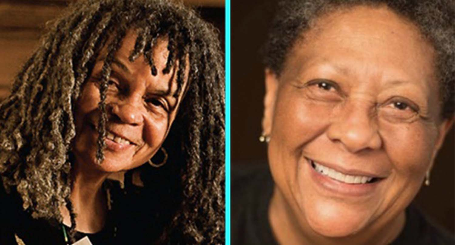 Poets Marilyn Nelson (left) and Sonia Sanchez (right) spoke about their works as a part of the first installment of the Center for African American Poetry Poetics Legacy Series.