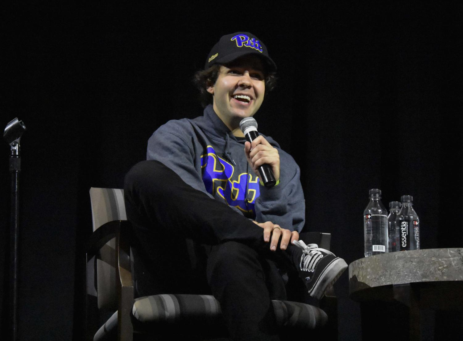Pitt Program Council hosted YouTube personality and vlogger David Dobrik Tuesday night in the William Pitt Union Assembly Room.