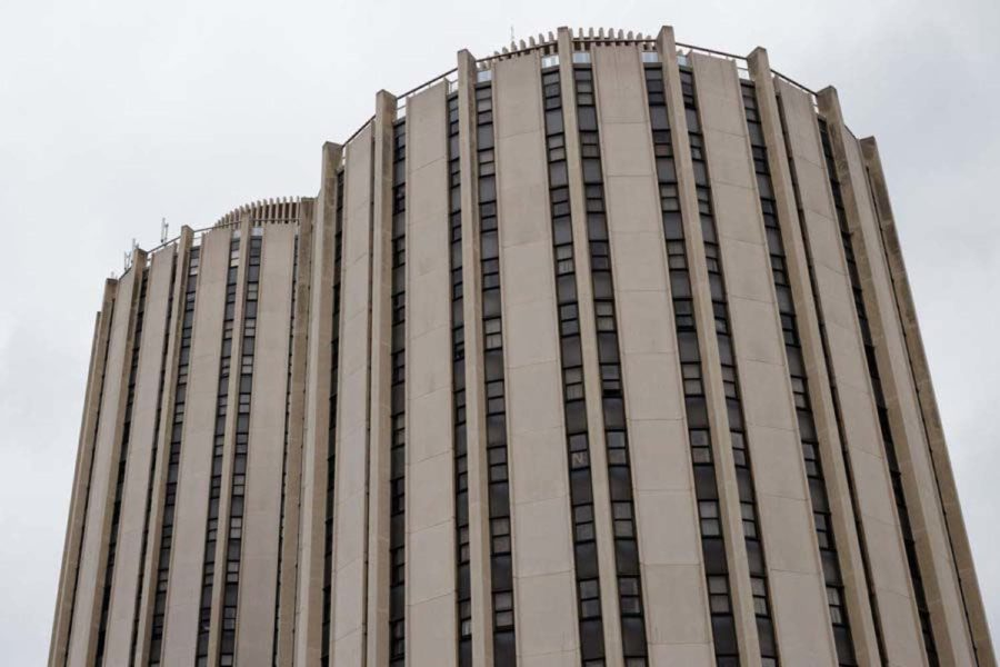Charges of strangulation and assault against Pitt student Grace Hall were dropped on Thursday.