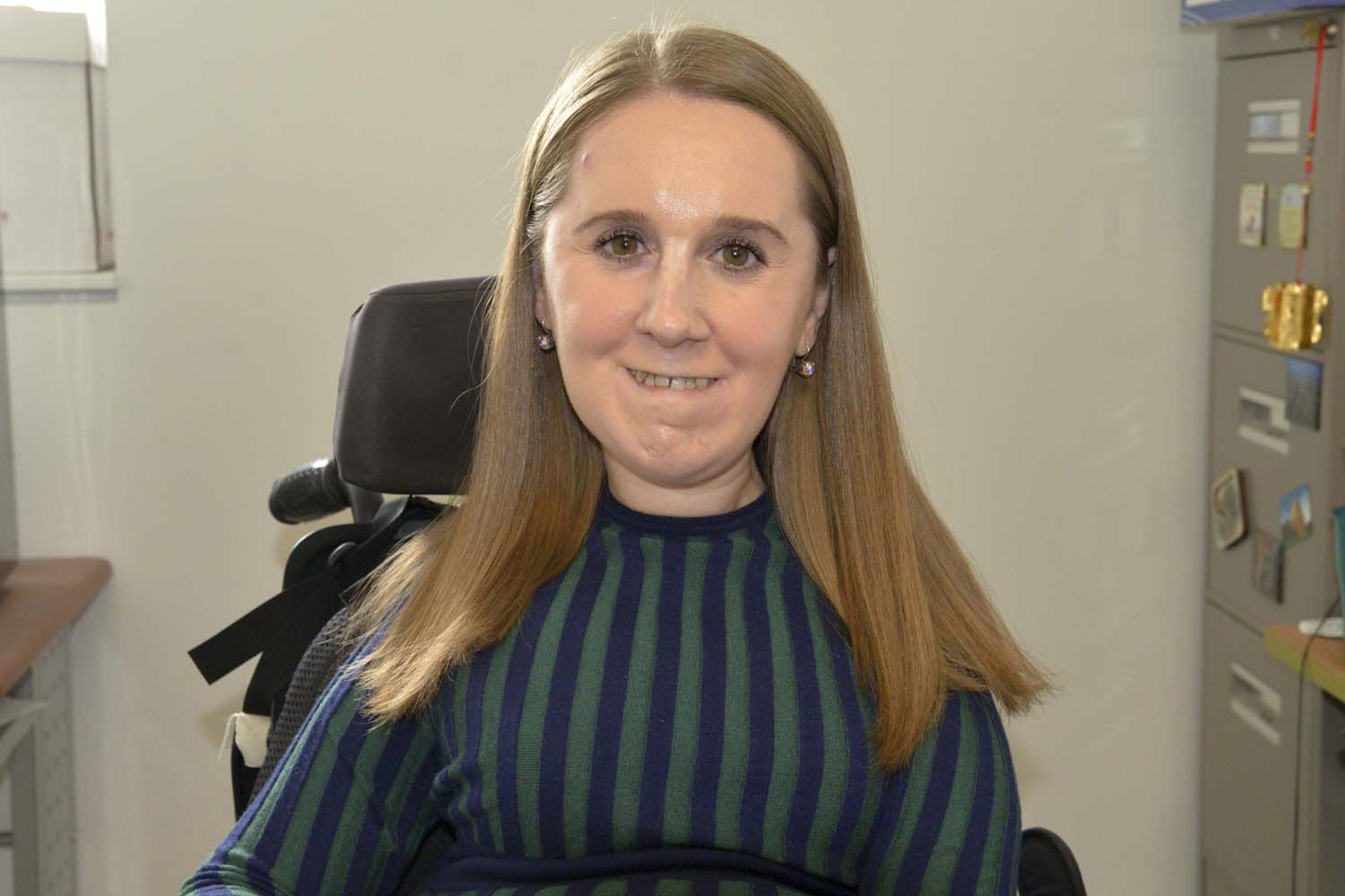 Heather Tomko, a graduate student at Pitt's School of Public Health, advocates for public health to put additional focus on accessibility.