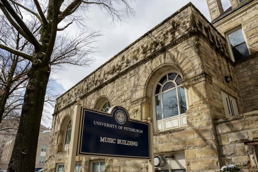 The Institutional Master Plan says that the Music Building should be maintained. Uncertainty about plans for the building has previously been met with pushback from the community.