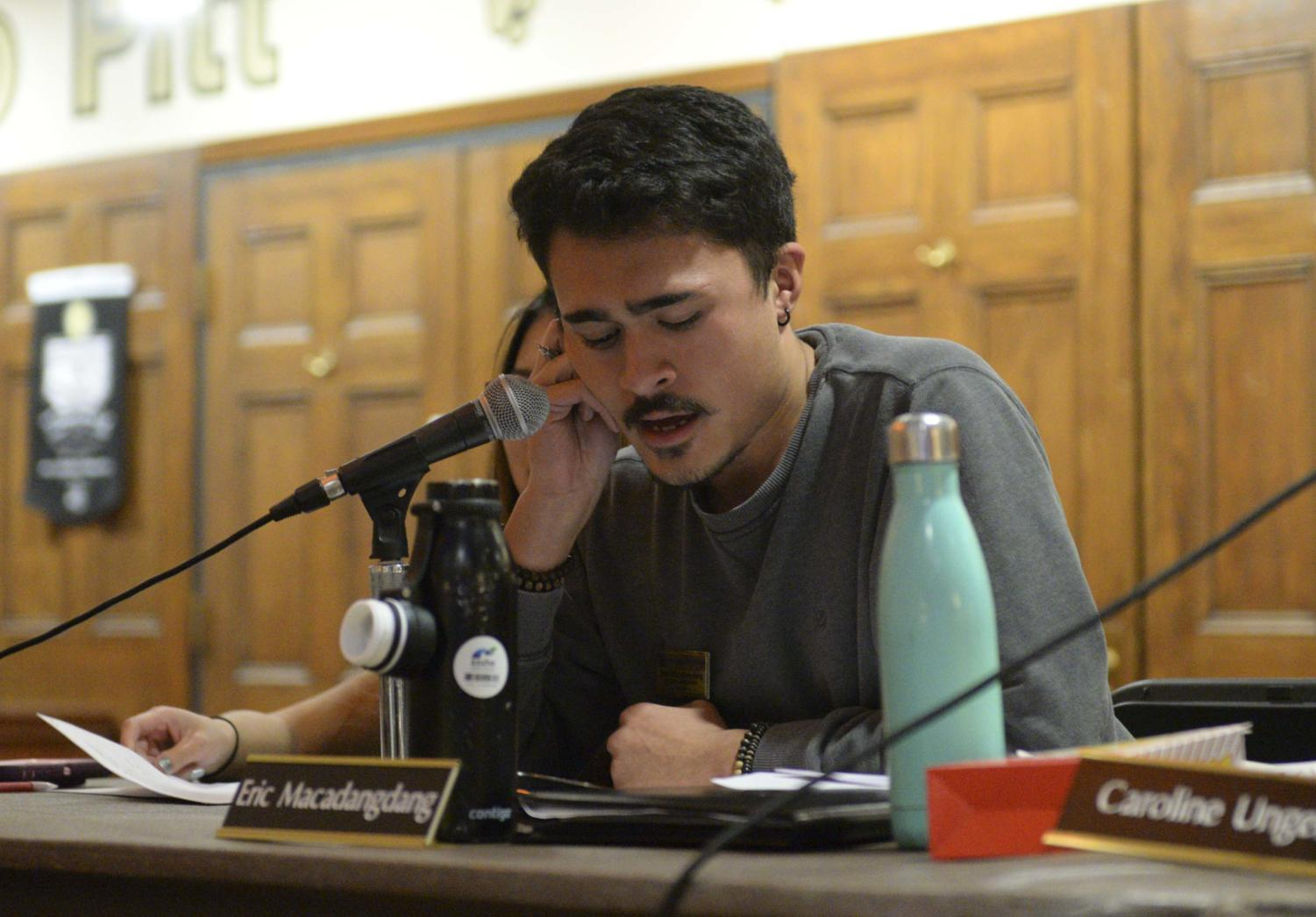 A resolution proposed by board member Eric Macadangdang calling on support for University labor and rights to organize without unlawful intrusion passed at last night's meeting. It comes about a month after Pitt filed an exception to a ruling proposed by the Pennsylvania Labor Relations Board on Sept. 18, halting its orders.
