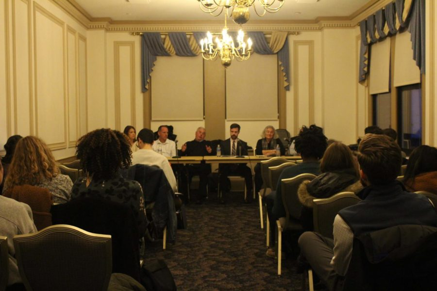 Pitt's Student Government Board hosted the first of two tenant workshop panels Tuesday evening in the William Pitt Union to educate renters on their rights.