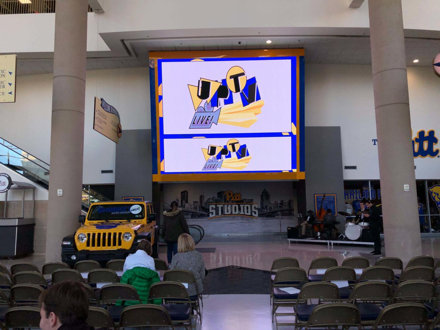 UPTV partnered with Pitt Studios for its first live broadcast from the Petersen Events Center, which included 10 UPTV shows.