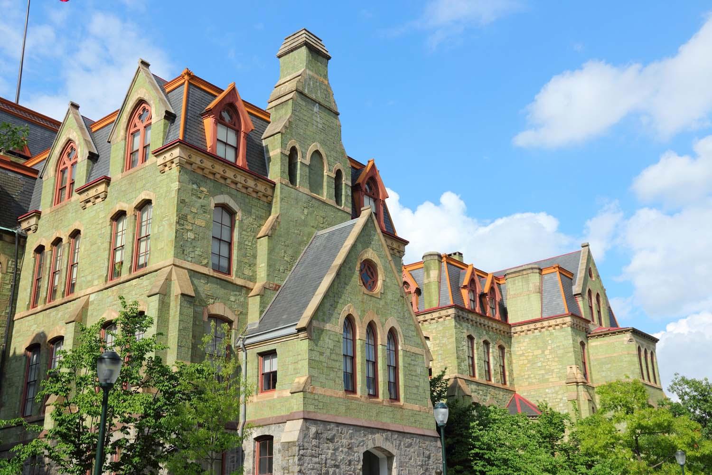 Pennsylvania State University's College Hall.