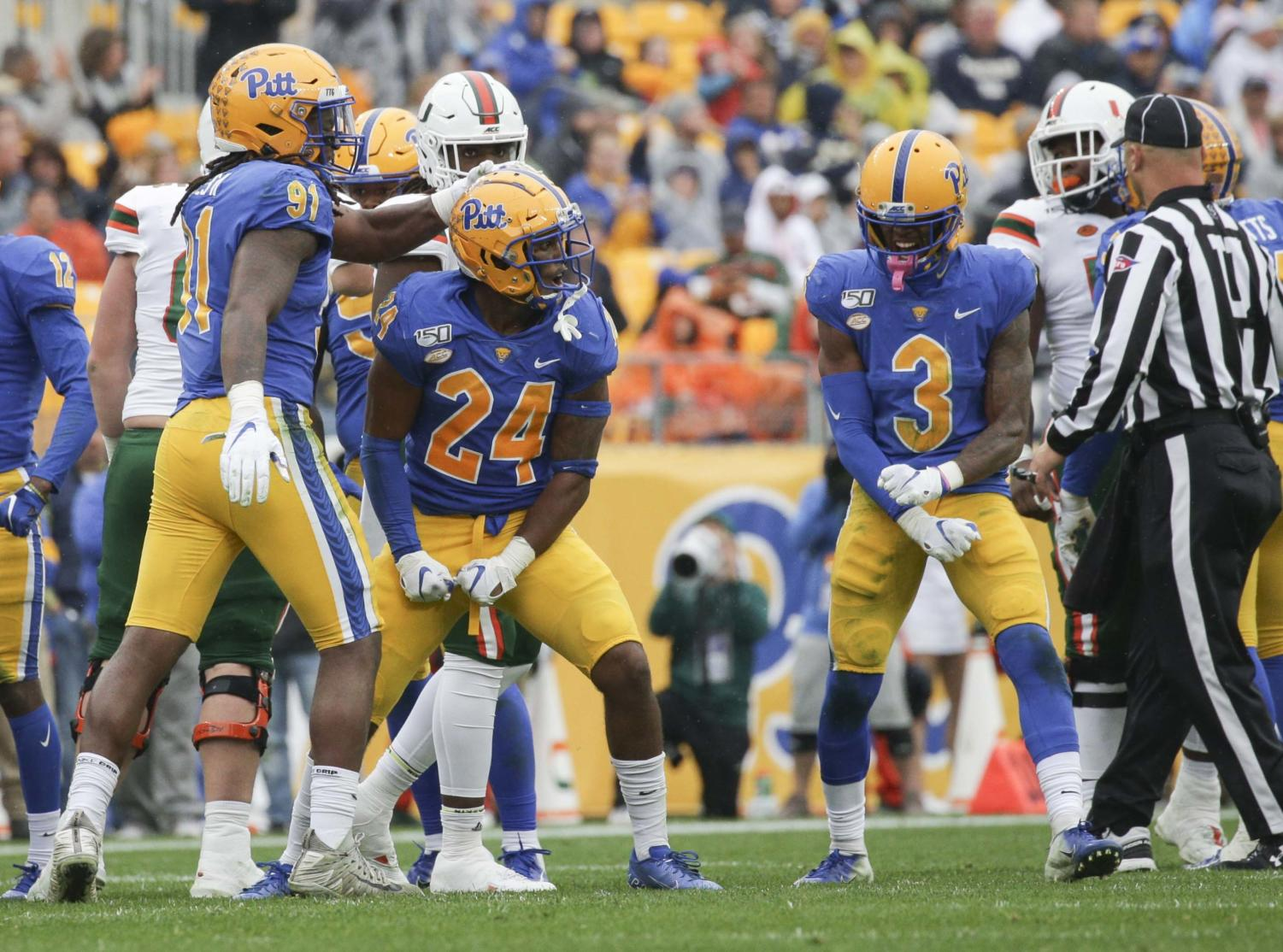 Pitt football's ACC schedule was revealed Wednesday.