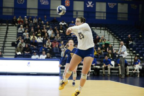 Pitt volleyball swept Wake Forest 3-0 at home on Friday, improving it's record to 22-1 overall and 11-0 in the ACC.