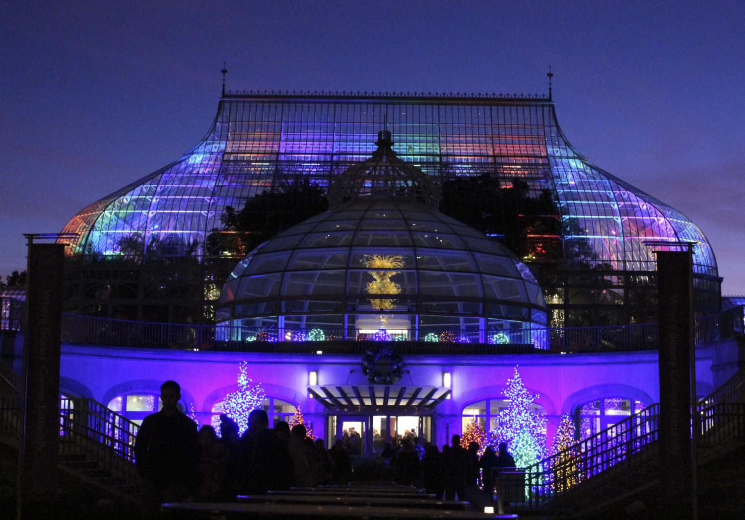 Phipps provides a warm greenhouse location to decompress after finals.