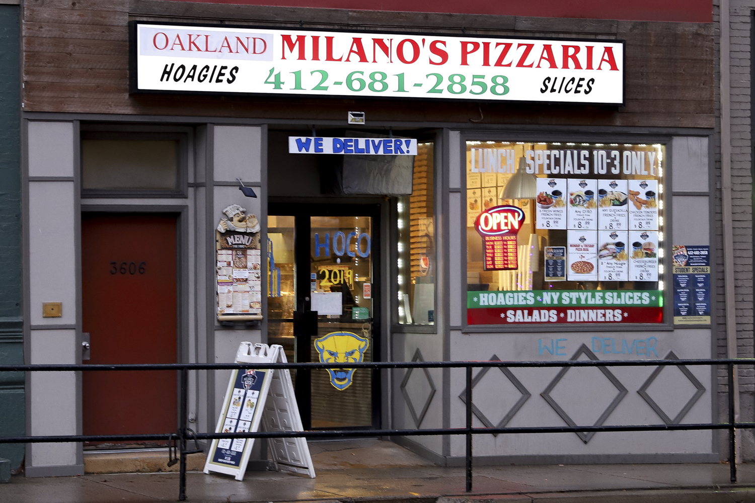 Milano's Pizza is one of 12 local restaurants partnered with Elevate Meal Plans.