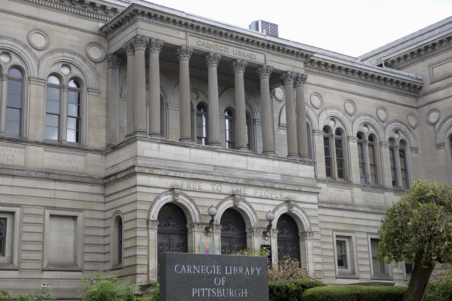 The Carnegie Library of Pittsburgh.
