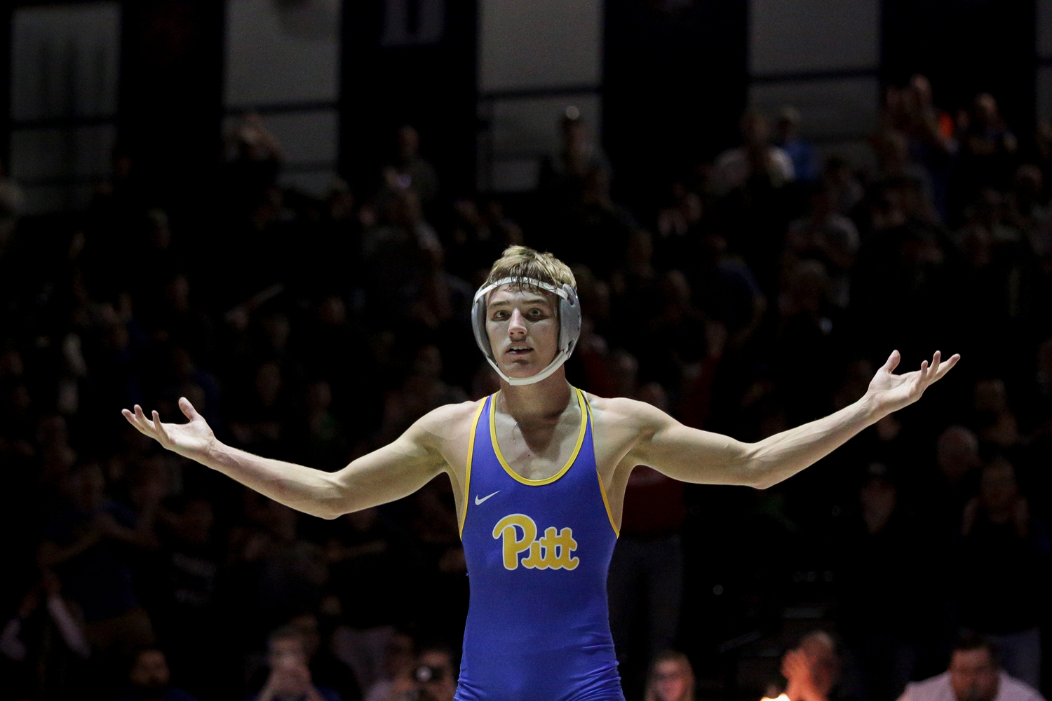 Redshirt sophomore Micky Phillippi improved to 8-0 on the year during Pitt's 29-6 victory over West Virginia.
