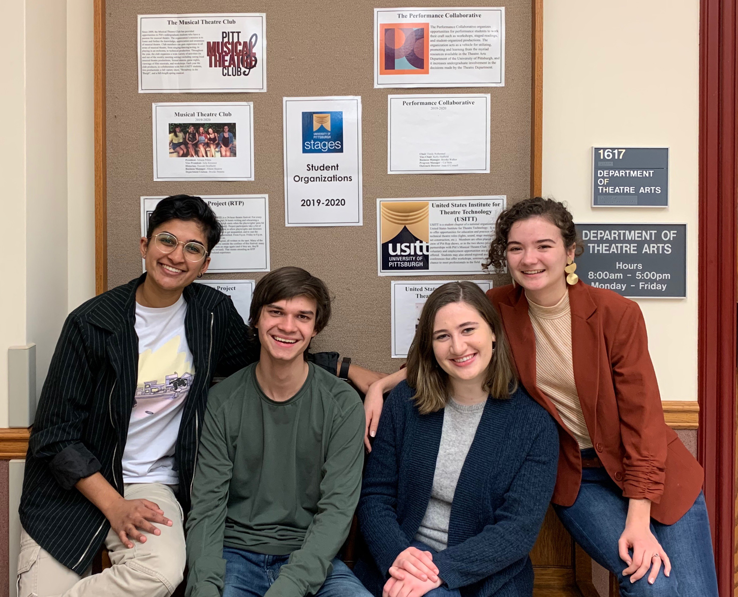 Performance Collaborative is a student-run club in the University's theater department that focuses on promoting student-created work.