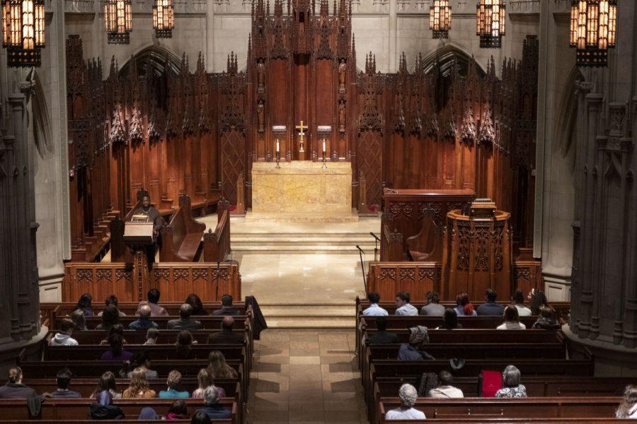 Heinz Chapel holds MLK Interfaith Service