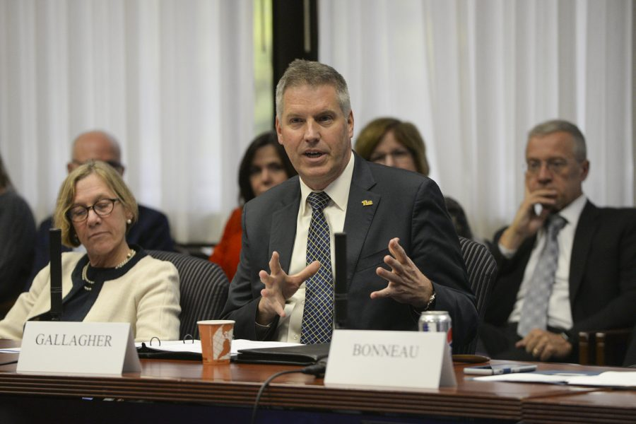 Chancellor Gallagher announced the launch of the planning process for Plan for Pitt 2025 on Monday.