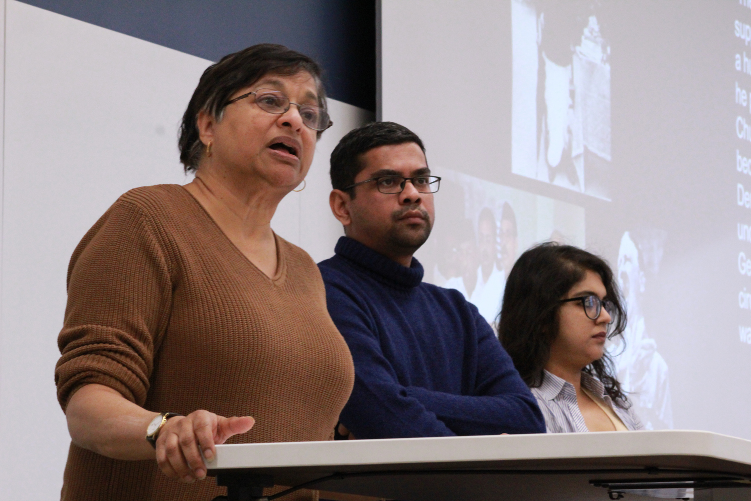 The Pittsburgh Against Facism in India Teach-in was held on Friday in Posvar Hall to raise awareness of India's current political state.