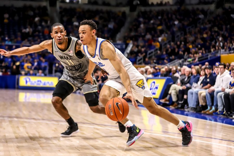 The Panthers are now 6-0 when sophomore guard Trey McGowens scores 20 or more points.