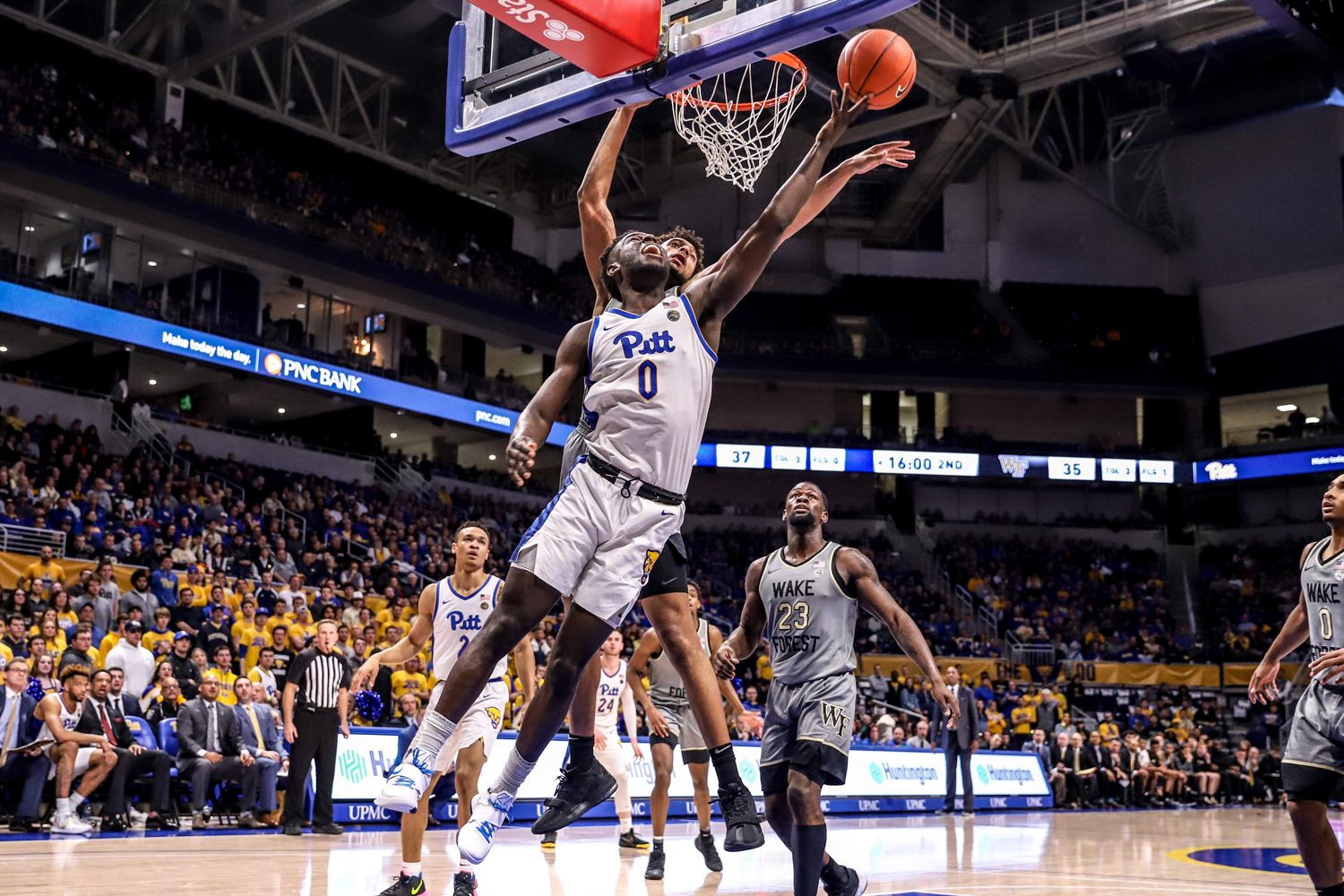 The Pitt men's basketball team fell 69-65 to a Wake Forest team that was projected to finish last in the conference.