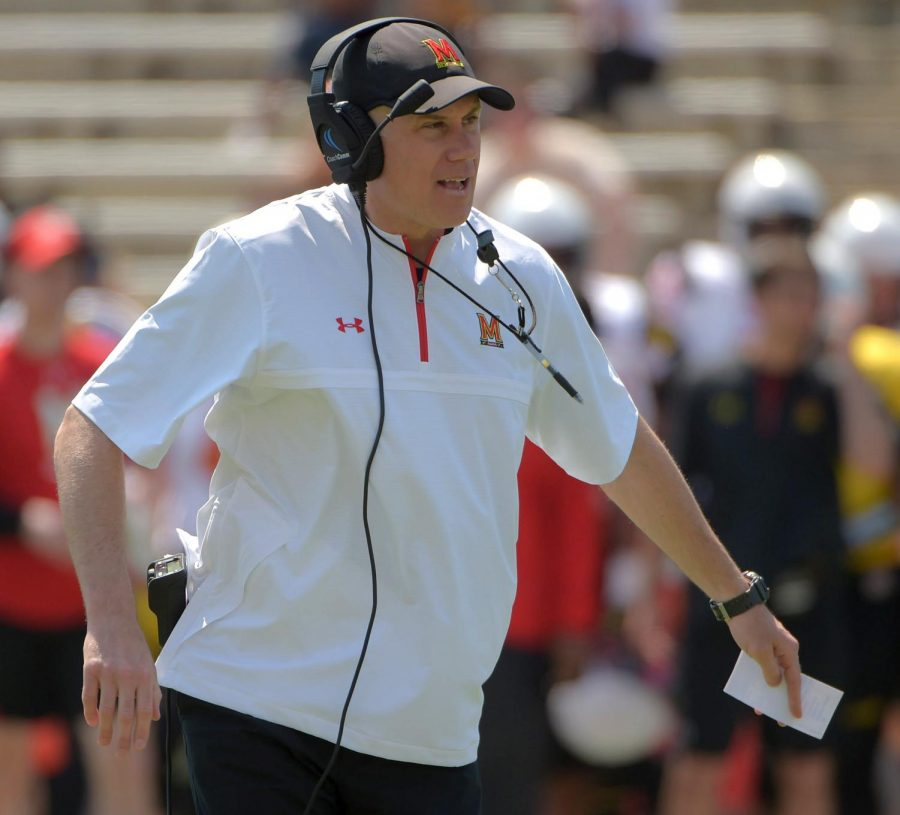 Former+Maryland+head+coach+D.J.+Durkin+was+hired+as+an+assistant+coach+at+the+University+of+Mississippi+last+month.++