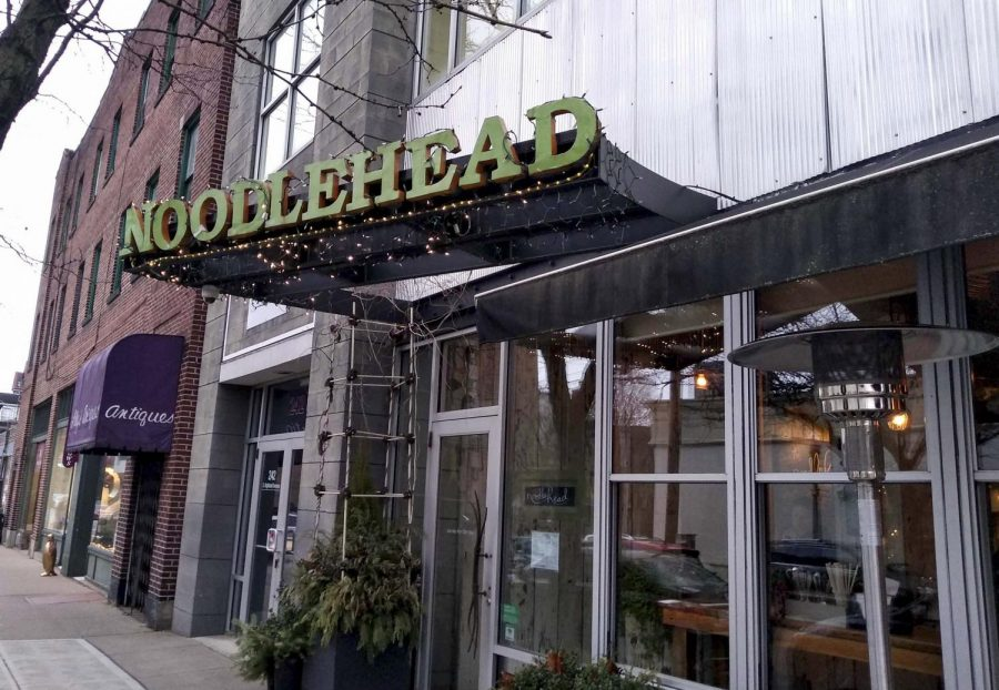 """Noodlehead in Shadyside claimed the title of Best Thai in The Pitt News' """"Best Of survey."""""""