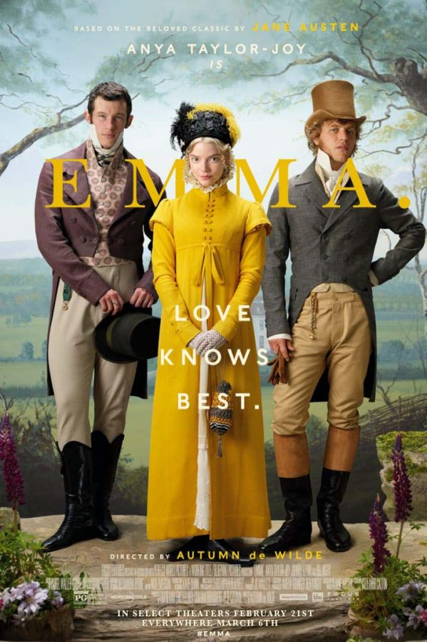"""Emma"" is a film adaptation of a Jane Austen novel of the same name."