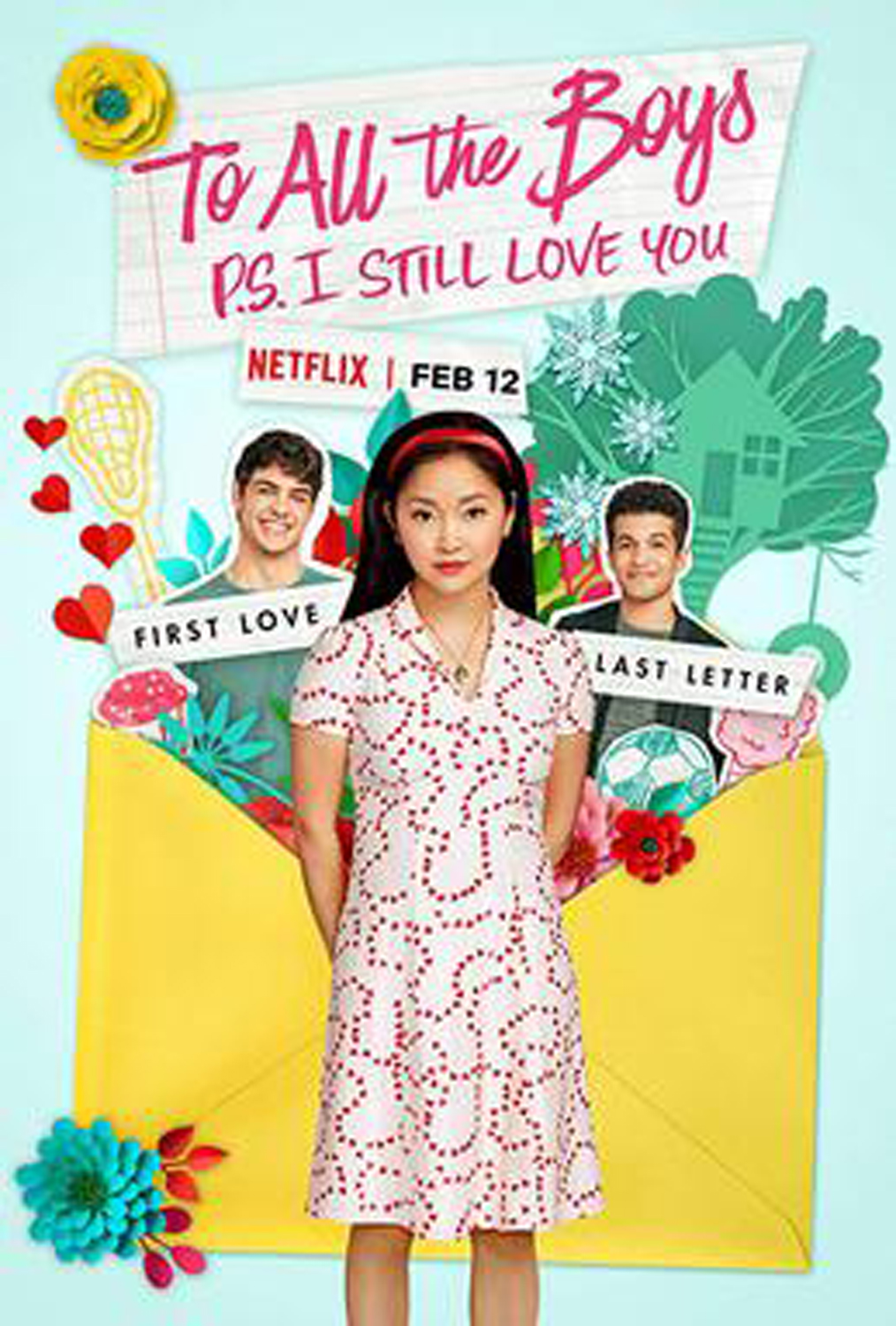 """To All The Boys I Loved Before: P.S. I Still Love You"" release poster."