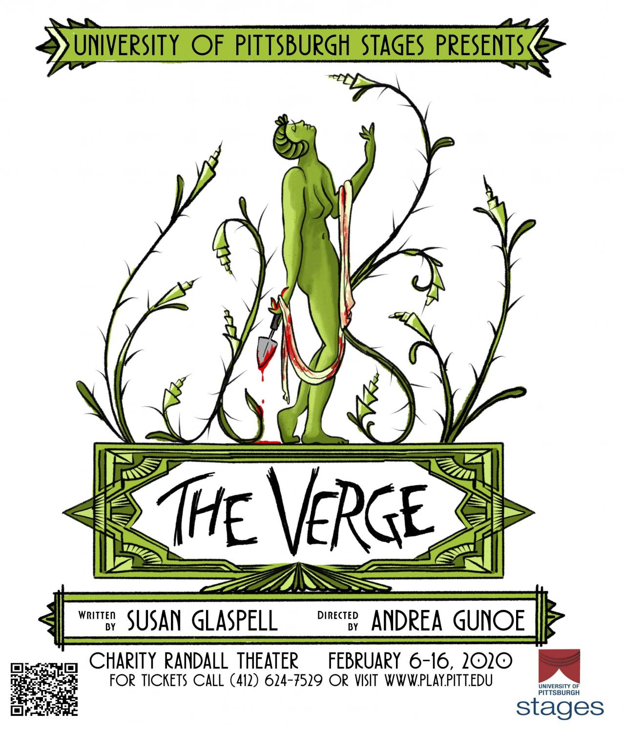 """Directed by Andrea Gunoe, a fifth-year Ph.D. student in theater arts, and written by playwright Susan Glaspell, """"The Verge"""" will run from Feb. 6 to Feb. 16 at the Charity Randall Theater."""