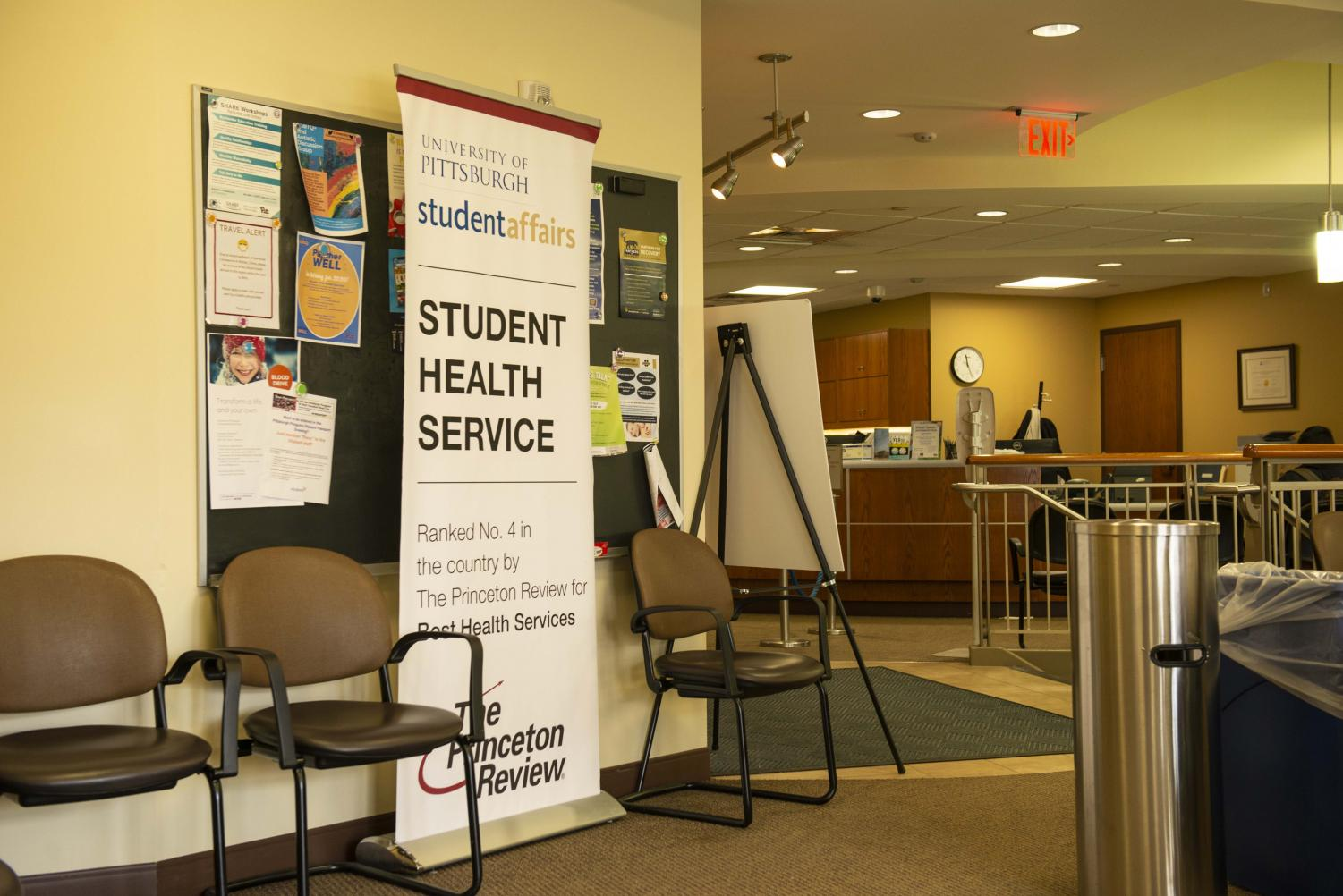 Pitt's Student Health Service, located in Nordenberg Hall, offers a wide variety of sexual health care, including access to contraceptives and comprehensive STD testing, HIV testing and pregnancy testing.
