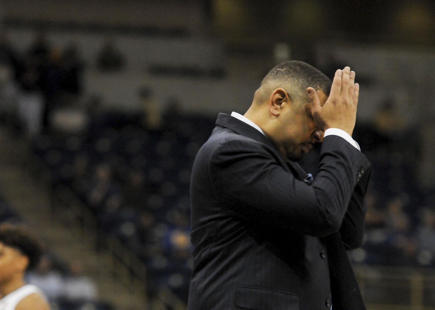 """Head coach Jeff Capel described Pitt's performance against Clemson on Wednesday as """"bad across the board."""""""