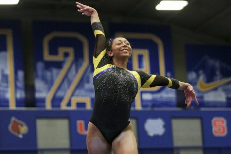 AAI Award nominee Michaela Burton leads Pitt gymnasts