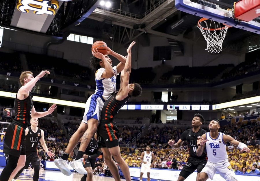 First-year forward Justin Champagnie recorded another double-double, with 20 points and 11 rebounds, both team highs.