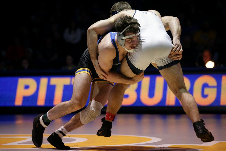Redshirt sophomore wrestler Nino Bonaccorsi was named ACC Wrestler of the Week.