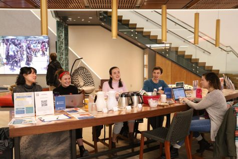 Global Brew, hosted in Posvar Hall's Global Hub, aims to educate people on the details of the worldwide coffee industry and its economic implications and consequences for both producers and consumers.