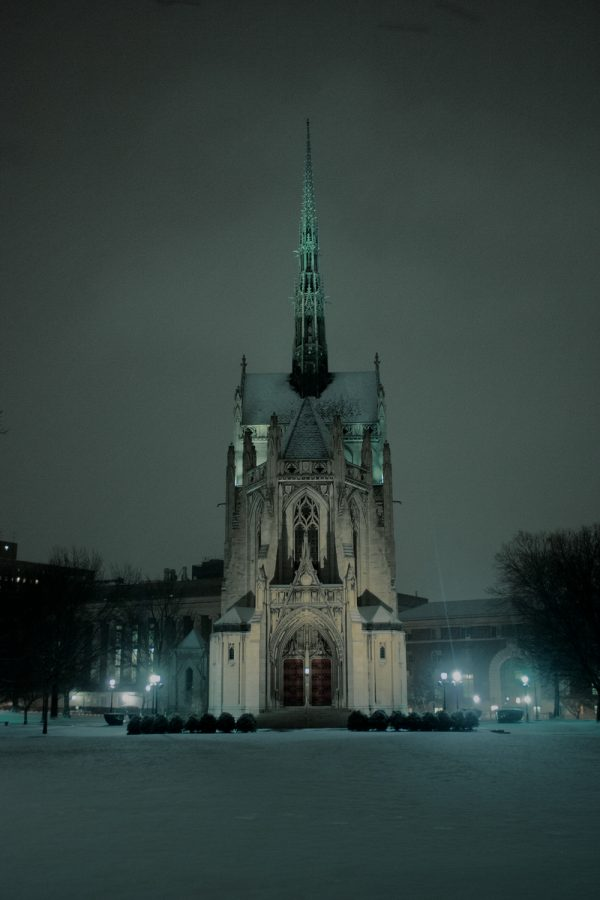 Heinz Chapel has cancelled all upcoming spring weddings and events as a result of the coronavirus outbreak.