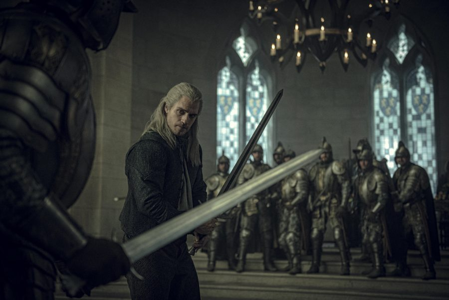 "Henry Cavill as Geralt of Rivia in Netflix's ""The Witcher."""