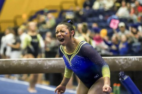 Five Pitt gymnasts earned all-conference honors in the 2020 East Atlantic Gymnastics League, including senior transfer Michaela Burton, who wrapped up her career with three First Team honors for bars, beam and floor.