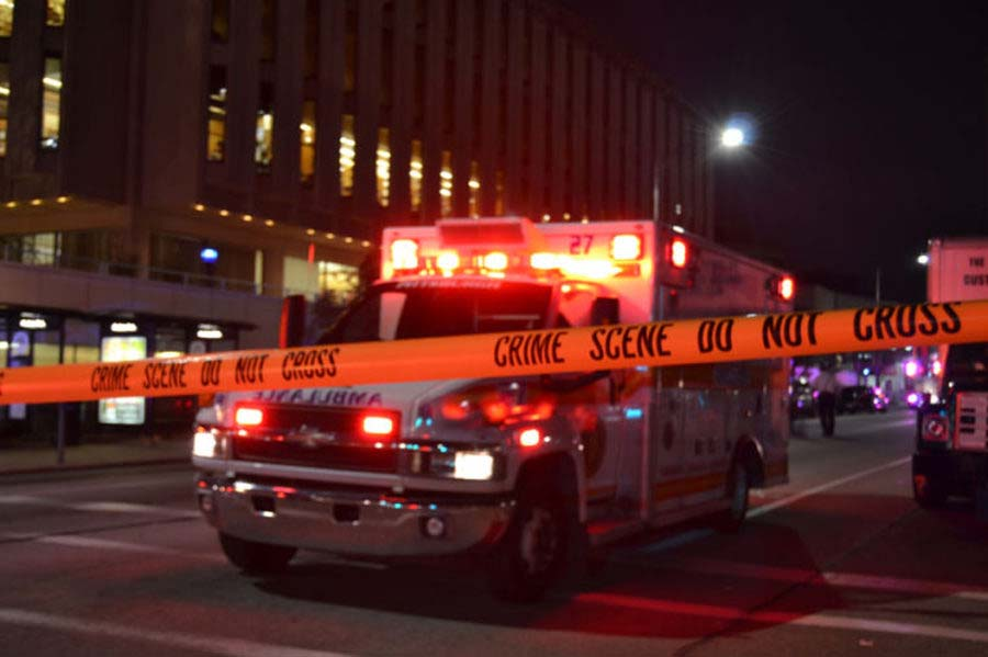 According to Don Sand, division chief of 911 operations at the Allegheny County Police Department, 911 operator shifts can last anywhere from eight to 16 hours, and operators can receive up to 4,200 calls per day.