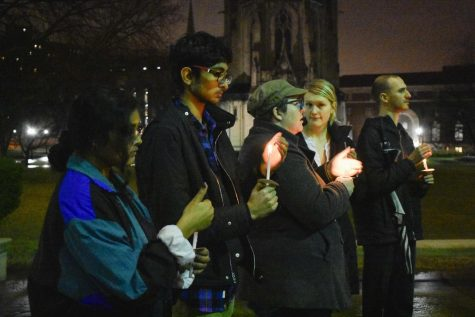 Pittsburgh Against Fascism in India held a candlelight vigil on Monday night to mourn the 50 victims of the late February riots in North East Delhi.